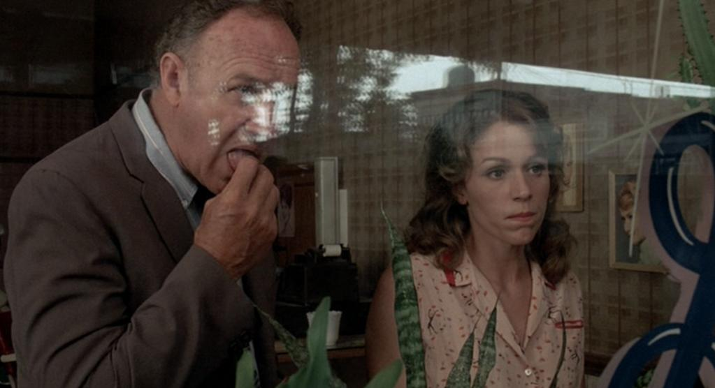 Gene Hackman y Frances McDormand en Arde Mississippi