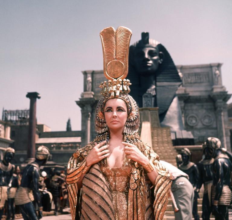 Liz Taylor en Cleopatra