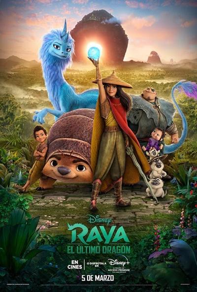 Poster de Raya y el Último Dragón
