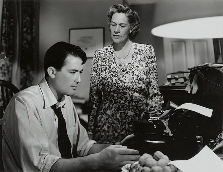 Gregory Peck y Anne Rever en La Barrera Invisible