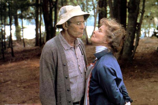 Henry Fonda y Katharine Hepburn en En el Estanque Dorado