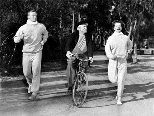 Spencer Tracy y Katharine Hepburn en La Impetuosa